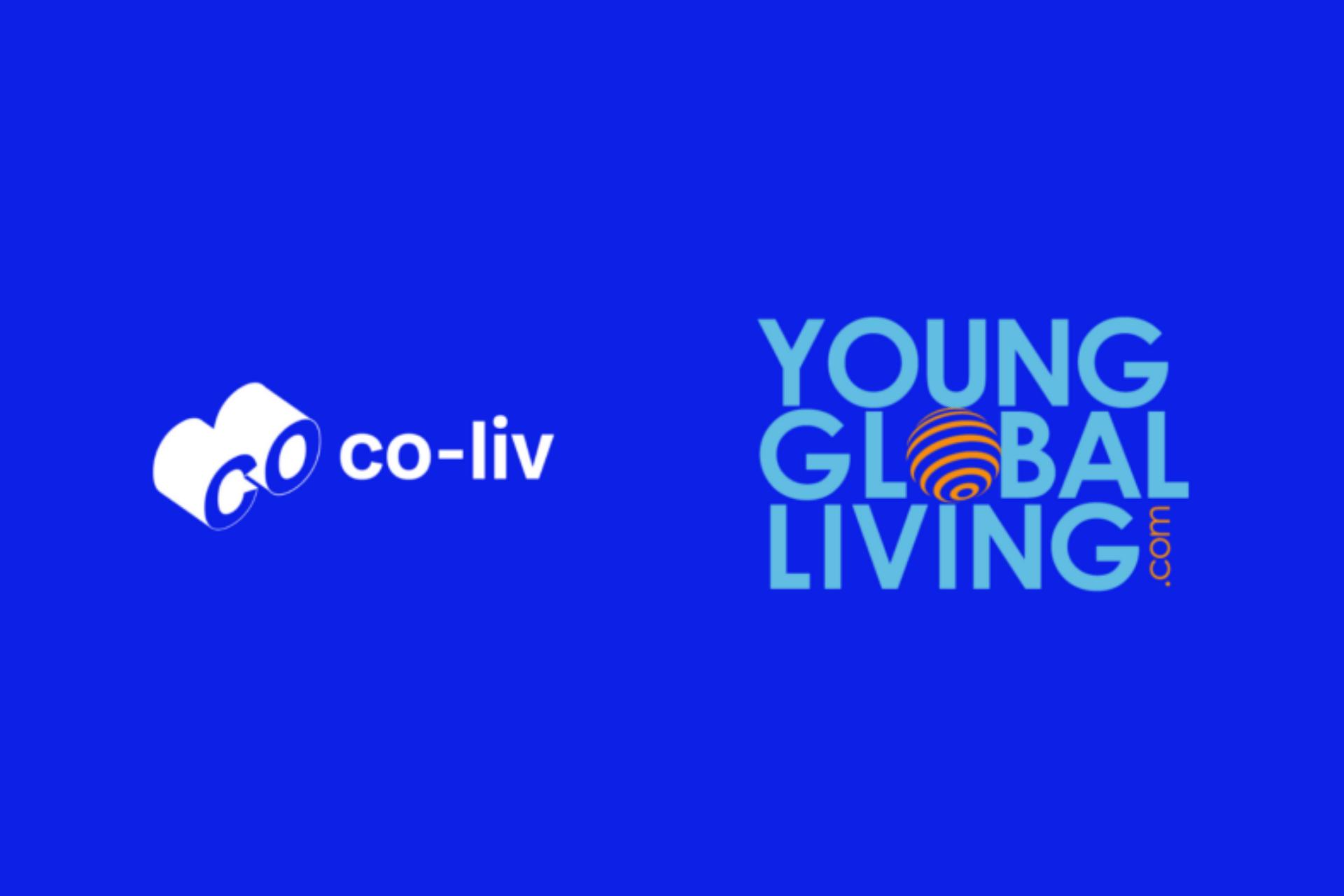 Co-liv and Young Globa Living logos