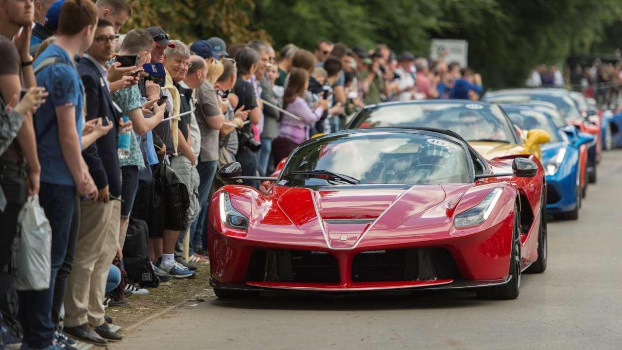 Racing event at Motorsport Valley