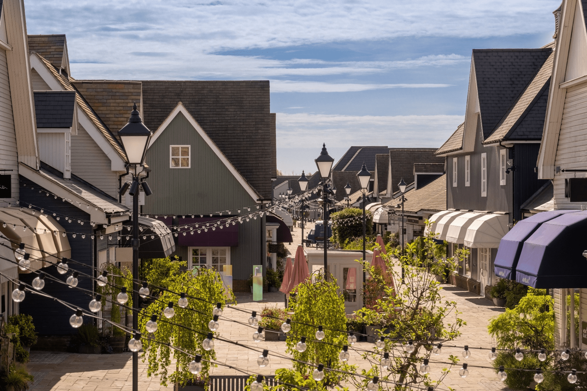 View of Bicester Village