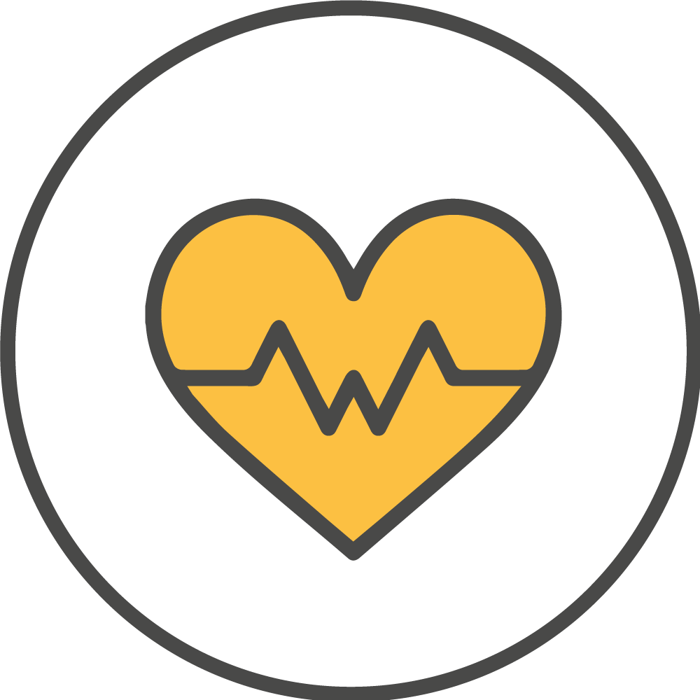 Moderate exercise icon
